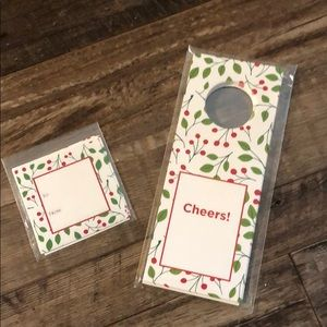 Stickers and Wine Tags!